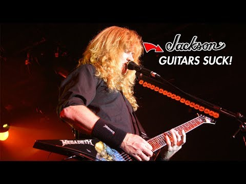 Megadeth's Dave Mustaine: Jackson Guitars Aren't What They Used to Be!