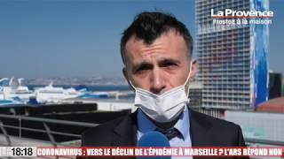 Le 18:18 - Covid-19 : un ralentissement de l'épidémie en Provence ? L'ARS reste prudente
