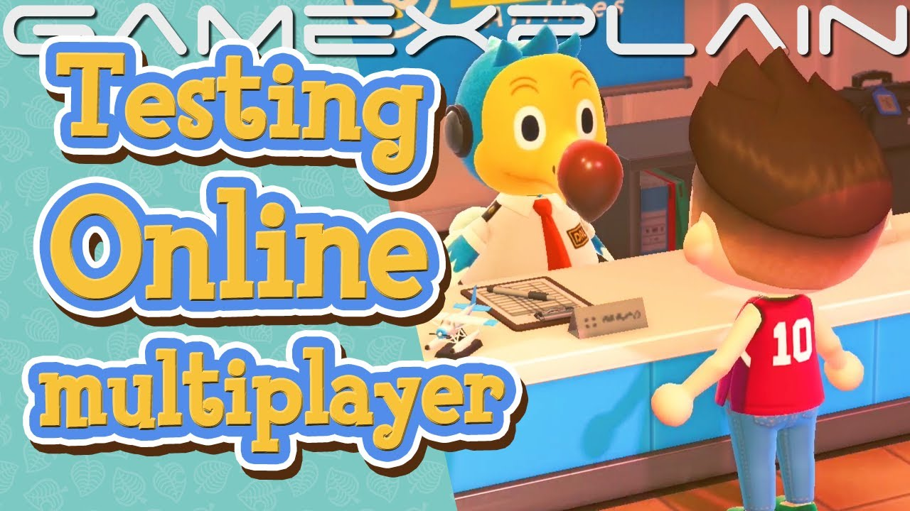 We Tested Animal Crossing New Horizons' Online Multiplayer Update! (Ver. 1.1 Tour)