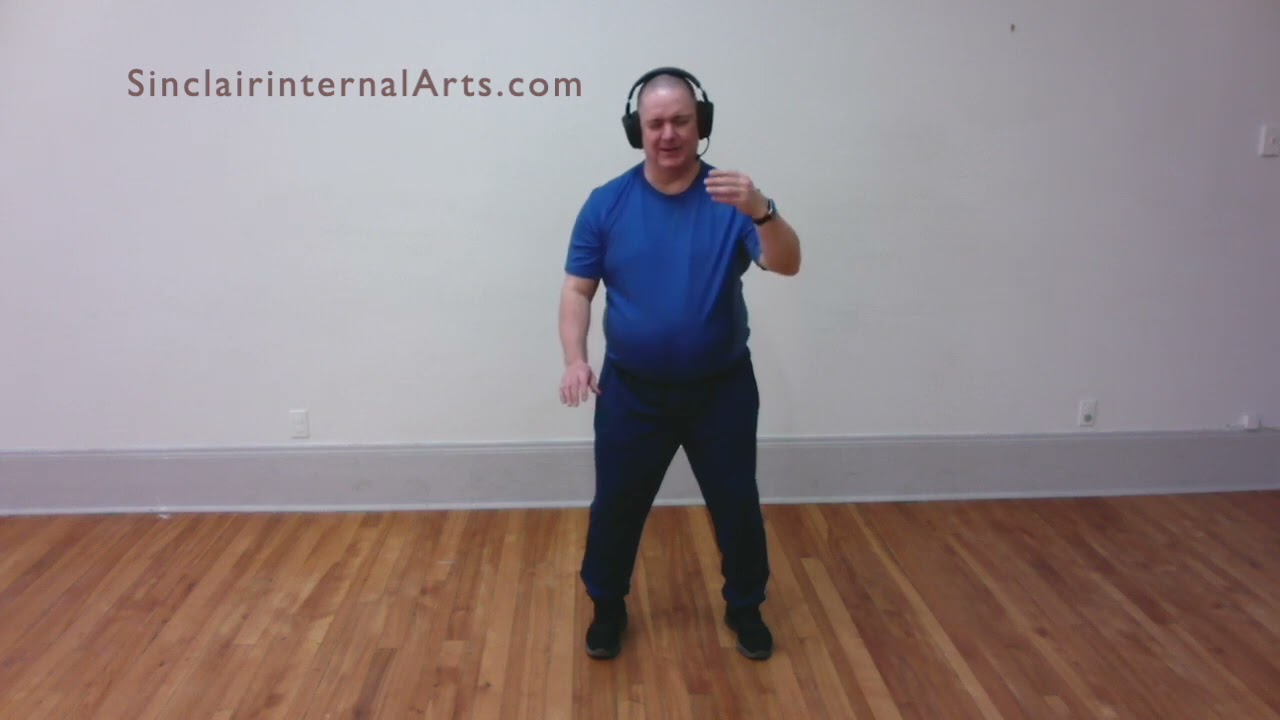 Incomplete Tai chi Lesson 6: Peng Part 1