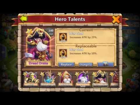 Castle Clash 1 Talent Refresh Card