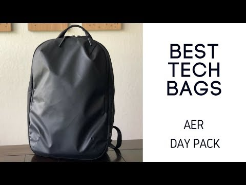 Best Daily Bags: Aer Day Pack (and Aer Tech Pack Comparison)