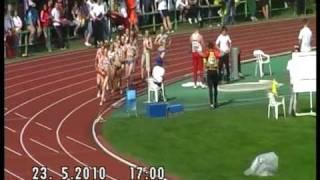 EYOT 2010: 1000 m, Girls, Final