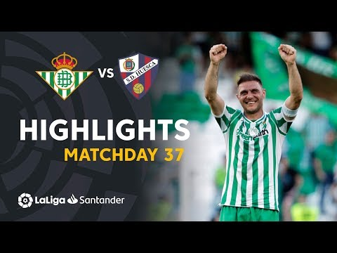 Highlights Real Betis vs SD Huesca (2-1)