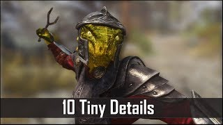 Skyrim Yet Another 10 Tiny Details That You May Still Have Missed in The Elder Scrolls 5 Part 34