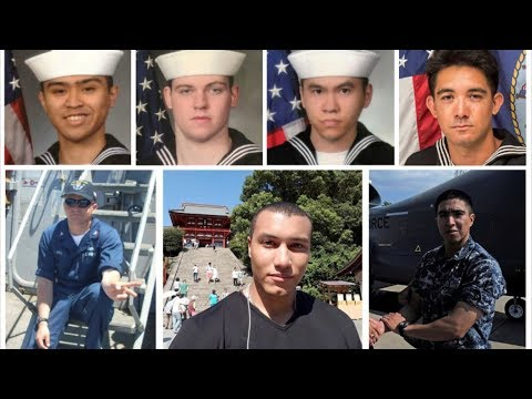 US Navy Confirms All 7 Missing Sailors from USS Fitzgerald Found Dead