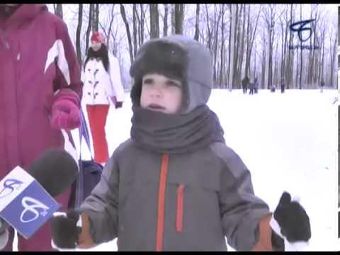 В честь открытия XXII Зимних Олимпийских игр в Белгороде прошли массовые старты