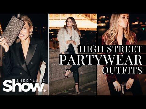 High Street Partywear Outfit Ideas   SheerLuxe Show
