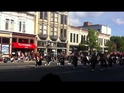 The Canadian Scottish Regiment Pipes and Drums