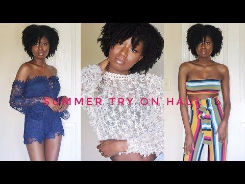 881c5edd865b Summer Time FOINE! Spring Summer TRY-ON Haul Ft. Fashion Nova