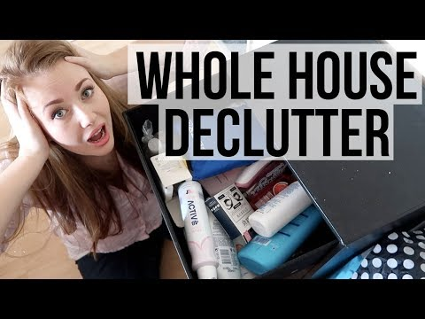 EXTREME DECLUTTER AND ORGANISE - 50 THINGS TO GET RID OF - WHOLE HOUSE - A CHILDMINDING MUMMY