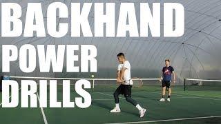 Video Backhand Power Drills + Baseline Practice download MP3, 3GP, MP4, WEBM, AVI, FLV Agustus 2018