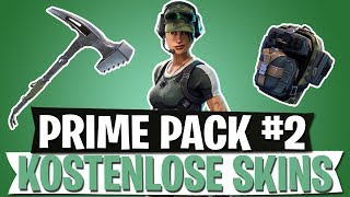 NEW FREE SKINS | TWITCH PRIME LOOT #2 | FORTNITE BATTLE ROYALE English