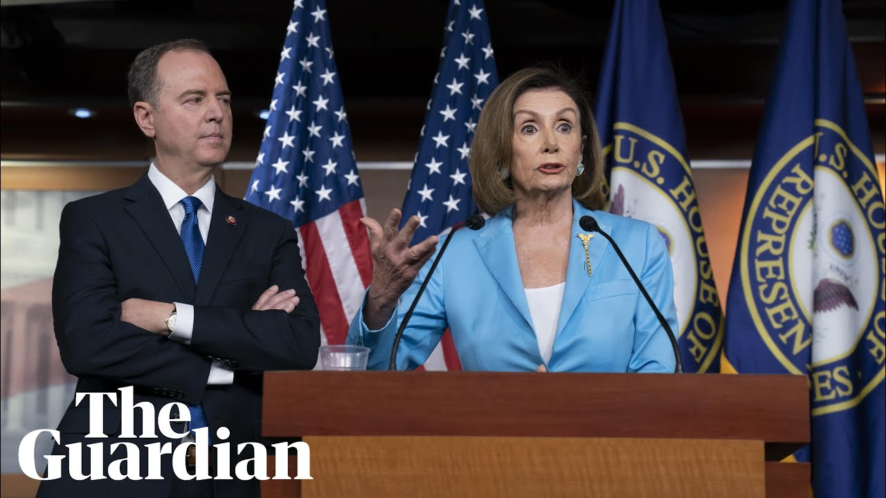 Pelosi and Schiff issue stern warning over Trump impeachment inquiry