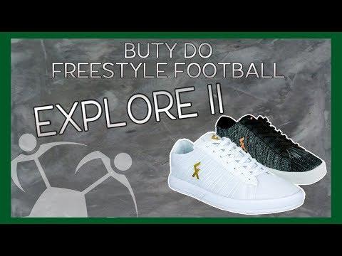 Recenzja(#1) - Explore II (Najlepsze buty do FREESTYLE FOOTBALL) + KONKURS!