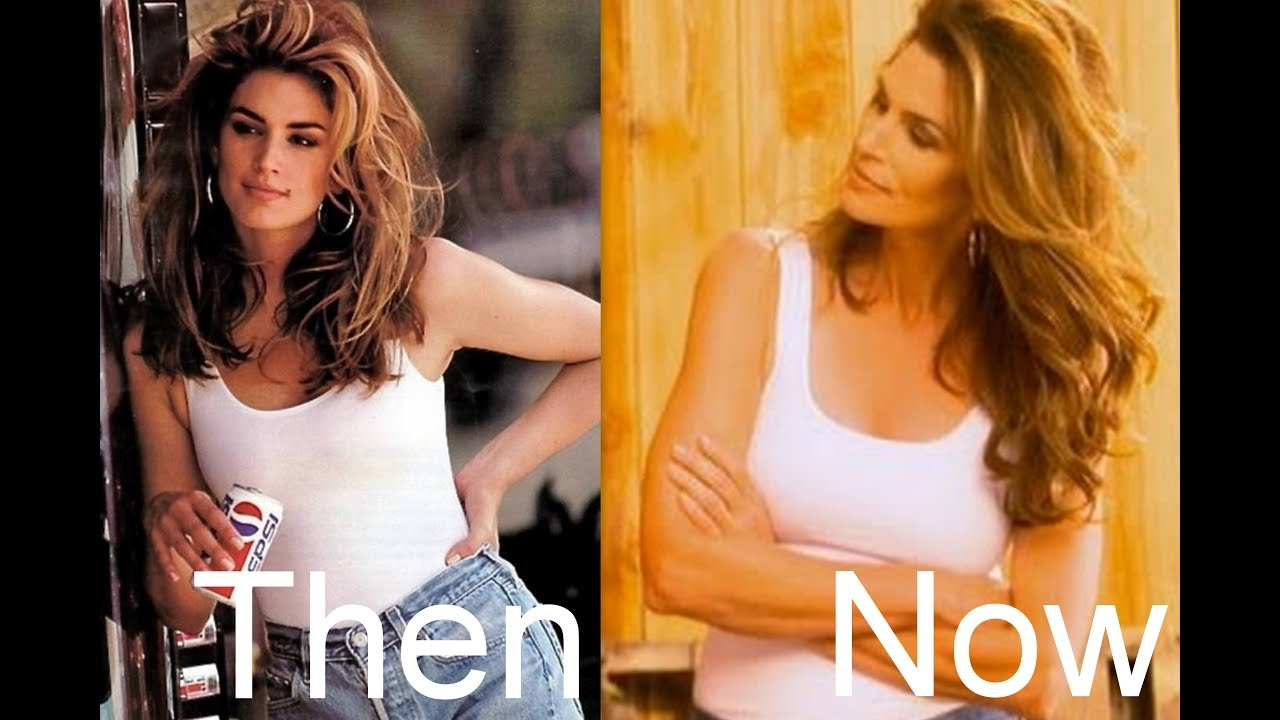 Cindy Crawfords 1992 Pepsi Commercial- Then And Now - Youtube-4627