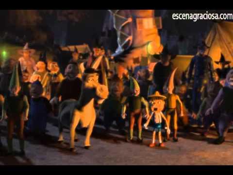 Escena Graciosa de ''Shrek 1''- No se acomoden en mi Pantano