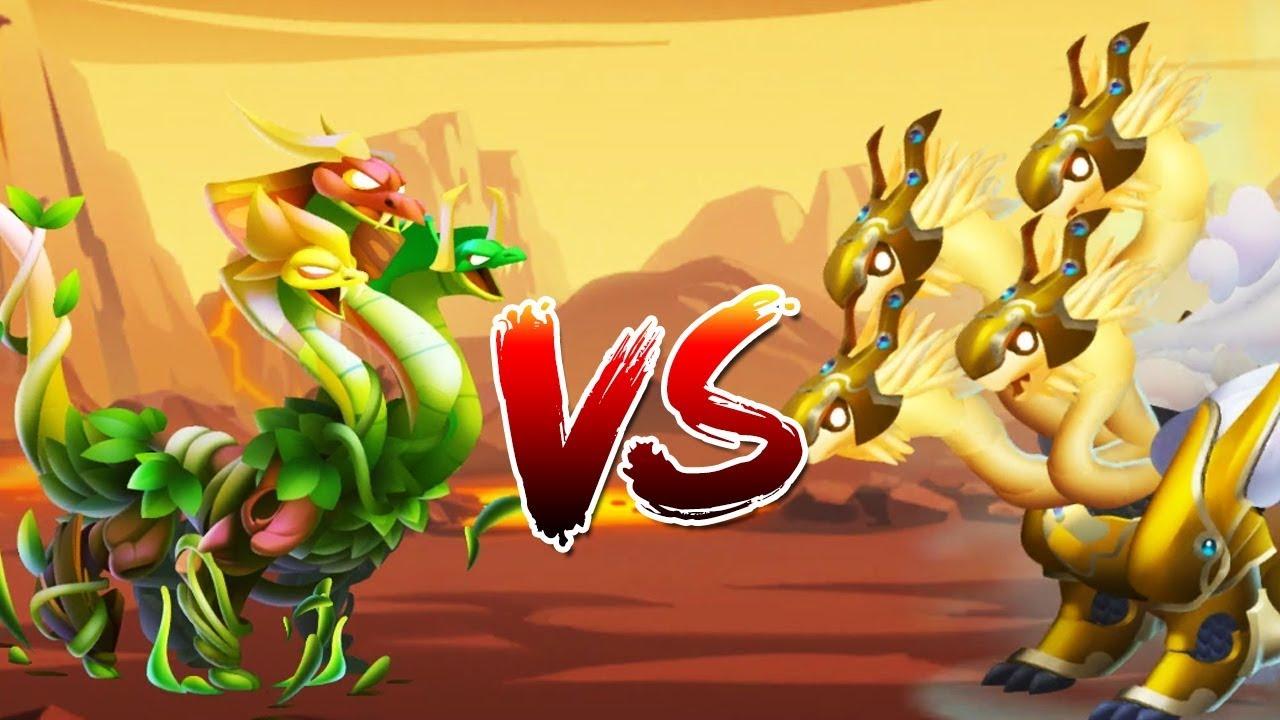 ✔️ 3 ĐẦU ĐẠI CHIẾN RỒNG 4 ĐẦU! – Dragon City Game Mobile – Nông Trại Rồng Android, Ios #326