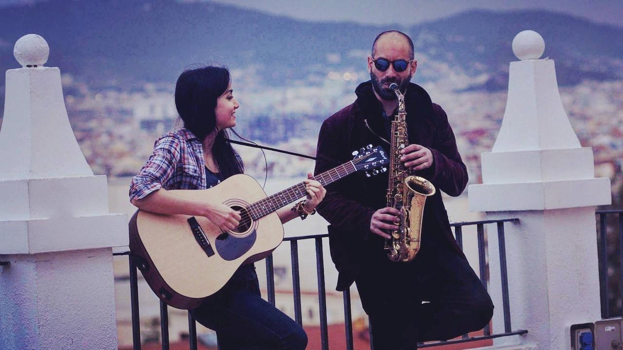 rescue me   saxophone version - live in barcelona