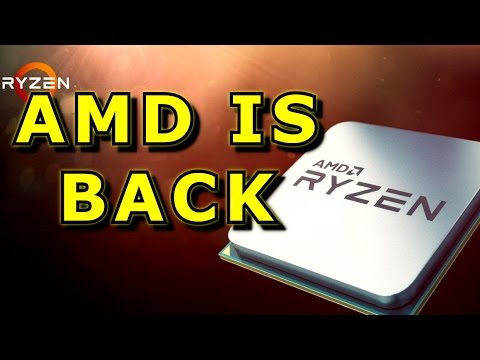 The (Belated) Ryzen Review - R7 1800X and R7 1700 - AMD back in business.