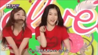 17,07,11 레드벨벳 Red Velvet - 빨간 맛 (Red Flavor) SBS MTV The Show 中字