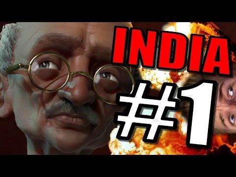 Civ 6: India Let's Play [Civilization 6: Gameplay] Gandhi Strategy Civilization VI [CIV VI] - Part 1