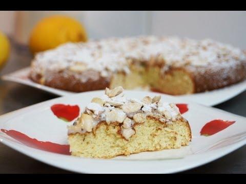 recette du délicieux gâteau italien citron amandes - youtube
