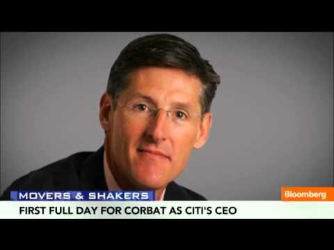 Citi CEO Corbat's First Full Day on the Job
