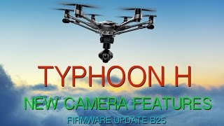 DRONE HELP - YUNEEC TYPHOON H Camera - Histogram, Burst, Timelapse, Exposure, Panorama
