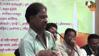 Azim Rahi SPEECH, Buldhana Mushaira, Org. Dr. GANESH GAIKWAD, 15/01/2016, Mushaira Media