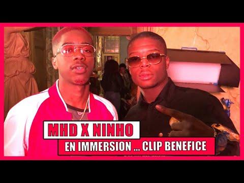 Mhd x Ninho : en immersion sur le clip « Bénéfice » entre serpent, éléphant et tigre ...
