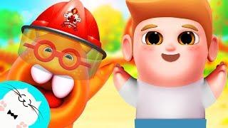 Pretend Play Song for Baby - Pongo! #NurseryRhymes #KidsSongs