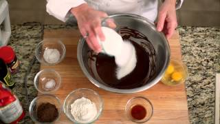 chocolate espresso olive oil brownies by chef hope cohen