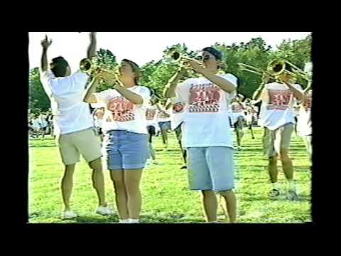 The 1994 Hudson High School Swing Marching Band