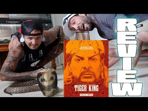 TIGER KING Review with Justin Igualada, Tyler Nolan and a Crazy Cobra !