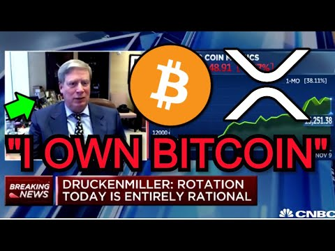 Billionaire Investor Stanley Druckenmiller Says He Owns BITCOIN On TV - Ripple CEO XRP vs BTC