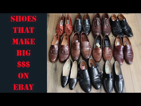 Shoe Brands That Sell For High Prices On EBay In 2020