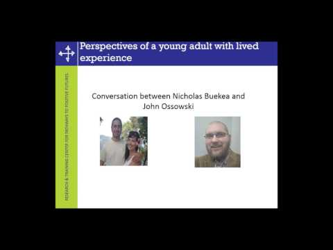 Family Support for Transition-Age Young People with Mental Health Challenges