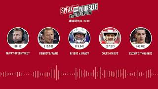 SPEAK FOR YOURSELF Audio Podcast (1.10.19) with Marcellus Wiley, Jason Whitlock | SPEAK FOR YOURSELF
