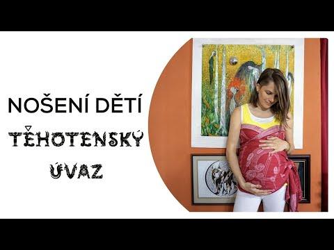 Těhotenský úvaz Sweetheart│Nošení dětí