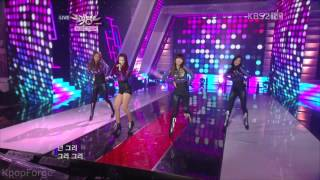 SISTAR - How Dare You LIVE in 1080p on 1/14/11