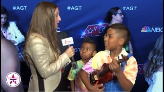 Ansley Burns, Tyler Butler Figueroa & Light Balance Kids RECAP Their AGT Performance!
