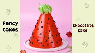 Amazing Watermelon Cake Decorating Ideas #shorts