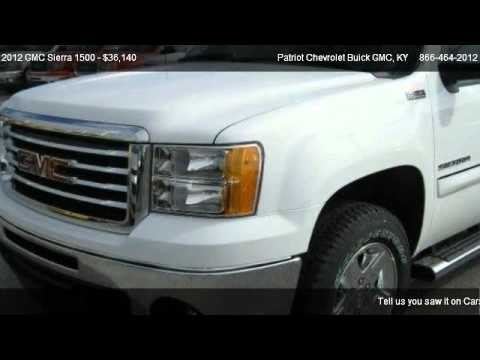 2012 GMC Sierra 1500 SLE   For Sale In Hopkinsville, KY 42240. Patriot  Chevrolet
