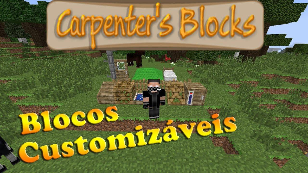Carpenters blocks майнкрафт 1 7 10