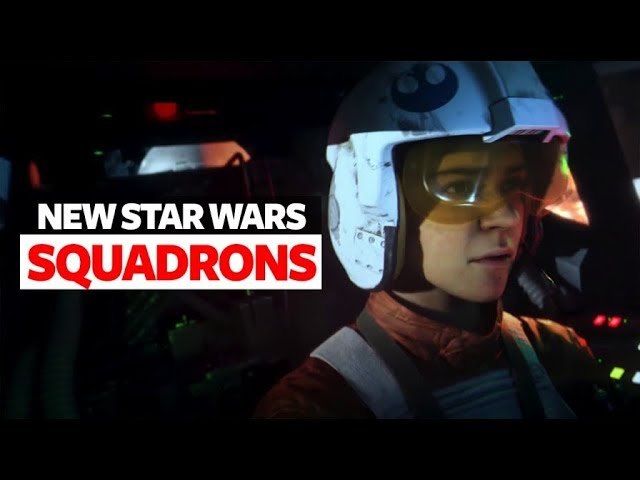 Star Wars: Squadrons Trailer - New Star Wars Reveal Trailer