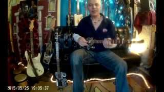 learn to play love me tender on a 3 string cbg
