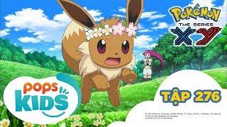 Pokémon Tập 276 -  Eevui Nhút Nhát !? Thu Phục Tại Vườn Hoa!!- Hoạt Hình Pokémon Tiếng Việt  S18 XY
