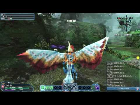 Phantasy Star Online 2 Gameplay PS4