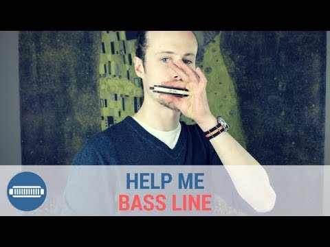 How to play Help Me Bass Line Sonny Boy Williamson Harmonica Lesson
